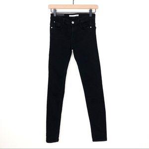 Zara Black Trafaluc Original Cropped Skinny Jeans